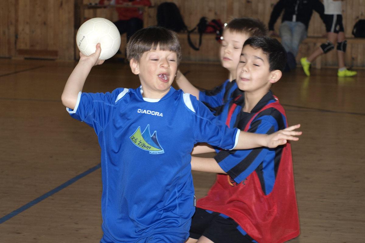 Vítězství v pátečním turnaji Kutnohorské školní ligy slavily Masaryčka a Kamenka - René Svoboda
