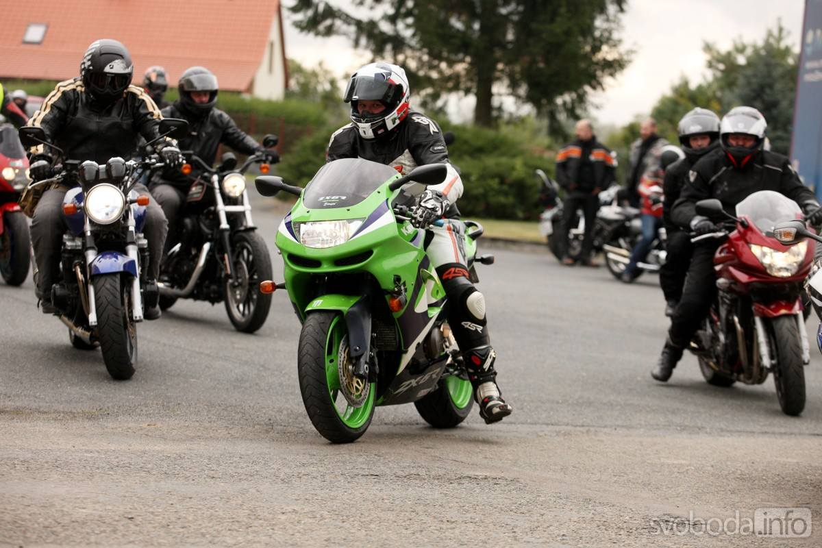Čáslavští motorkáři uzavřou sezonu tradiční společnou vyjížďkou