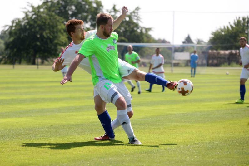 Hlízov naložil soupeři zTupadel šest gólů, polovinu si připsal Lukáš Křelina