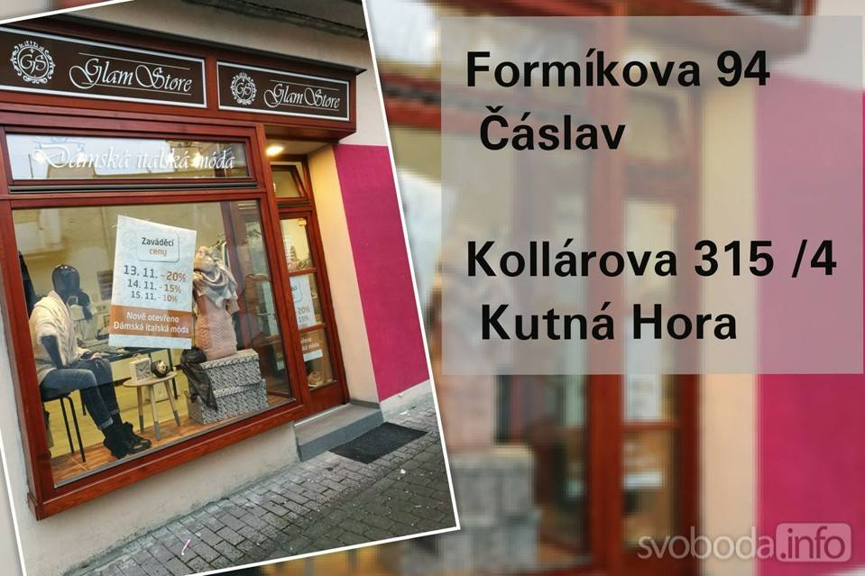 6259b6bf19e7 20180716103521 glamstore main  TIP  Obchody Glamstore v Kutné Hoře a v  Čáslavi představují značku Yours